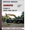 Thumbnail Komatsu PC200LC-5 Serial 45001 and up Factory Service Repair Manual Download Pdf