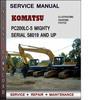 Thumbnail Komatsu PC200LC-5 Mighty Serial 58019 and up Factory Service Repair Manual Download Pdf
