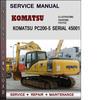Thumbnail Komatsu PC200-5 Serial 45001 and up Factory Service Repair Manual Download Pdf