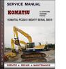 Thumbnail Komatsu PC200-5 Mighty Serial 58019 and up Factory Service Repair Manual Download Pdf