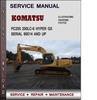 Thumbnail Komatsu PC200 200LC-6 Hyper GX Serial 96514 and up Factory Service Repair Manual Download Pdf