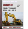 Thumbnail Komatsu PC1250-7 PC1250LC-7 Serial 20001 and up Factory Service Repair Manual Download Pdf