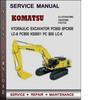 Thumbnail Komatsu Hydraulic Excavator PC600 8PC600 LC-8 PC800 K50001 PC 800 LC-K Factory Service Repair Manual Download Pdf