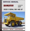 Thumbnail Komatsu HD325 5 Serial 2001 and up Factory Service Repair Manual Download Pdf