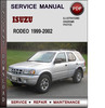 Thumbnail Isuzu Rodeo 1999-2002 Factory Service Repair Manual Download Pdf