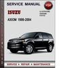 Thumbnail Isuzu Axiom 1999-2004 Factory Service Repair Manual Download Pdf