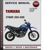 Thumbnail Yamaha XT660R 2004-2008 Factory Service Repair Manual Download Pdf