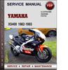 Thumbnail Yamaha XS400 1982-1993 Factory Service Repair Manual Download Pdf