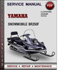 Thumbnail Yamaha Snowmobile BR250F Factory Service Repair Manual Download Pdf