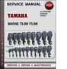 Thumbnail Yamaha Marine T9.9W F9.9W Factory Service Repair Manual Download Pdf