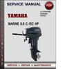 Thumbnail Yamaha Marine 9.9-15 Hp Factory Service Repair Manual Download Pdf