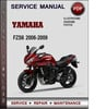Thumbnail Yamaha FZS6 2006-2009 Factory Service Repair Manual Download Pdf