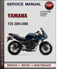 Thumbnail Yamaha FZ6 2004-2008 Factory Service Repair Manual Download Pdf