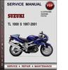 Thumbnail Suzuki TL 1000 S 1997-2001 Factory Service Repair Manual Download Pdf