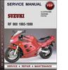 Thumbnail Suzuki RF 900 1993-1999 Factory Service Repair Manual Download Pdf