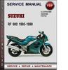 Thumbnail Suzuki RF 600 1993-1999 Factory Service Repair Manual Download Pdf