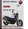 Thumbnail Suzuki GSX 400 1981-1999 Factory Service Repair Manual Download Pdf