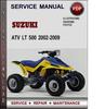 Thumbnail Suzuki ATV LT 500 2002-2009 Factory Service Repair Manual Download Pdf