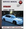 Thumbnail Subaru Legacy 1995-1999 Factory Service Repair Manual Download Pdf