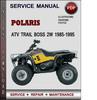 Thumbnail Polaris ATV Trail Boss 2W 1985-1995 Factory Service Repair Manual Download Pdf