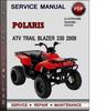 Thumbnail Polaris ATV Trail Blazer 330 2009 Factory Service Repair Manual Download Pdf