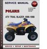 Thumbnail Polaris ATV Trail Blazer 1996-1998 Factory Service Repair Manual Download Pdf