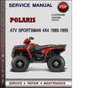 Thumbnail Polaris ATV Sportsman 4x4 1985-1995 Factory Service Repair Manual Download Pdf