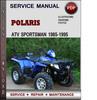 Thumbnail Polaris ATV Sportsman 1985-1995 Factory Service Repair Manual Download Pdf
