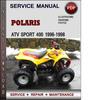 Thumbnail Polaris ATV Sport 400 1996-1998 Factory Service Repair Manual Download Pdf