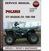 Thumbnail Polaris ATV Magnum 2x4 1996-1998 Factory Service Repair Manual Download Pdf