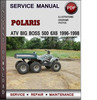 Thumbnail Polaris ATV Big Boss 500 6x6 1996-1998 Factory Service Repair Manual Download Pdf