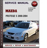 Thumbnail Mazda Protege 5 2000-2004 Factory Service Repair Manual Download Pdf