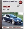 Thumbnail Mazda MX-3 1995 Factory Service Repair Manual Download Pdf