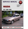 Thumbnail Mazda 323 1988-1992 Factory Service Repair Manual Download Pdf