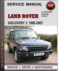 Thumbnail Land Rover Discovery 2 1995-2007 Factory Service Repair Manual Download Pdf