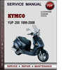 Thumbnail Kymco YUP 250 1999-2008 Factory Service Repair Manual Download Pdf