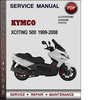 Thumbnail Kymco Xciting 500 1999-2008 Factory Service Repair Manual Download Pdf