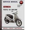 Thumbnail Kymco People 150 1999-2008 Factory Service Repair Manual Download Pdf