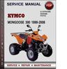 Thumbnail Kymco MONGOOSE 300 1999-2008 Factory Service Repair Manual Download Pdf