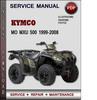 Thumbnail Kymco MO MXU 500 1999-2008 Factory Service Repair Manual Download Pdf