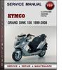 Thumbnail Kymco Grand Dink 150 1999-2008 Factory Service Repair Manual Download Pdf