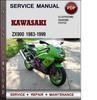 Thumbnail Kawasaki ZX900 1983-1999 Factory Service Repair Manual Download Pdf
