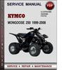 Thumbnail KYMCO Mongoose 250 1999-2008 Factory Service Repair Manual Download Pdf