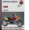 Thumbnail KTM 660 LC4 Factory Service Repair Manual Download Pdf
