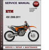 Thumbnail KTM 450 2008-2011 Factory Service Repair Manual Download Pdf