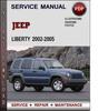 Thumbnail Jeep Liberty 2002-2005 Factory Service Repair Manual Download Pdf