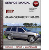 Thumbnail Jeep Grand Cherokee WJ 1987-2000 Factory Service Repair Manual Download Pdf