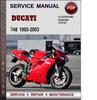 Thumbnail Ducati 748 1993-2003 Factory Service Repair Manual Download Pdf