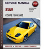 Thumbnail Fiat Coupe 1993-2000 Factory Service Repair Manual Download Pdf