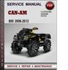 Thumbnail Can-Am 800 2006-2012 Factory Service Repair Manual Download Pdf